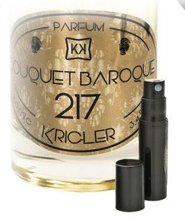 BOUQUET BAROQUE 217 échantillon 2ml