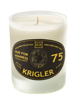 OUD FOR HIGHNESS 75 Scented candle