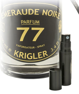 EMERAUDE NOIRE 77 échantillon 2ml