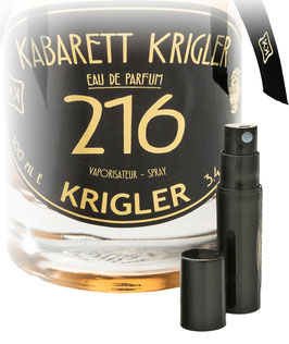 KABARETT KRIGLER 216  Probe 2-ml-Flakon