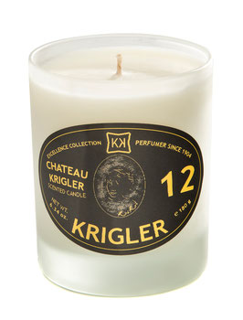 CHATEAU KRIGLER 12 Bougie parfumée