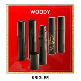 WOODY Duftproben Set - 5 Tester in 2ml Größe