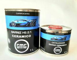 BARNIZ GMG CERAMICO HS 2:1 1L + HARDENER 0,5L.