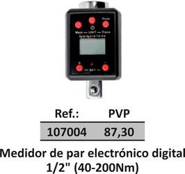 """Medidor de par electrónico digital 1/2"""" (40-200Nm"""
