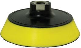 """SOPORTE para Boinas Negras & Amarillas. 6"""" 150mm (rosca 14mm)  REF: GMB614"""