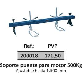 Soporte puente para motor 500Kg