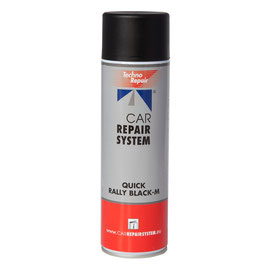 SPRAY Acrilico NEGRO brillante CAR REPAIR 500ml