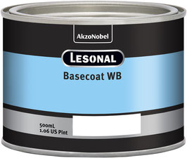 Lesonal Basecoat WB 295P/ 0,5ltr.