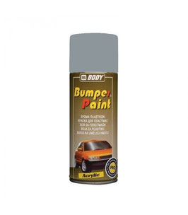 SPRAY BUMPER PAINT Gris Claro (LISO) 400ml.