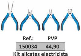Kit alicates electricista