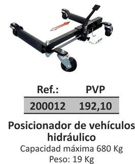 Posicionador de vehículos hidráulico