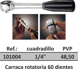 Carraca rotatoria 60 dientes