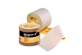 ROLLO DE LIJA RHYNALOX PLUS 115mm X50mts Grano P-120