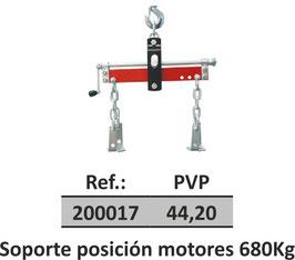 Soporte posición motores 680Kg