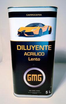 Diluyente Acrilico LENTO GMG  5L