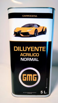 Diluyente Acrilico NORMAL GMG  5L