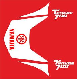 Adhesivos Colin Blancos con logo en Rojo.