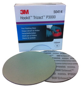 3M  50414  Disco Trizact  P-3000     150mm