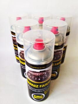 BARNIZ REPARADOR PARA FAROS GMG 400ml  (1 caja de 6 unidades)