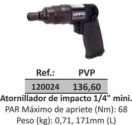 "Atornillador de impacto 1/4"" mini."