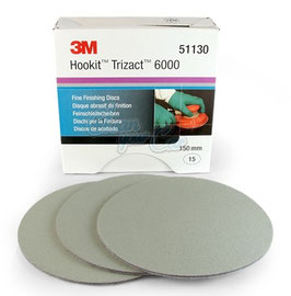 3M  51130  Disco Trizact  P-6000     150mm