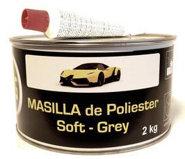 Masilla Soft Grey 2Kg