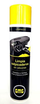 LIMPIADOR DE SALPICADEROS SIN SILICONA GMG 600ml.