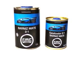BARNIZ MATE GMG 1L + Catalizador 0,5L.