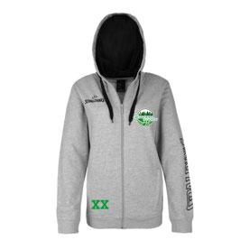 SPALDING Team Zip-Jacket women mit Wunschnummer