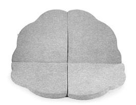 MeowBaby® Wolke Spielmatte Spielteppich für Kinder, hellgrau