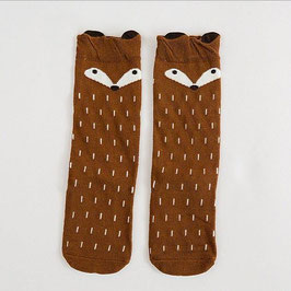 Socken 'Fuchs' braun