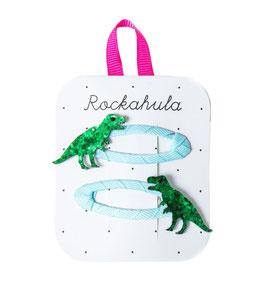 Rockahula Haarspangen 'Dinosaurier'