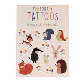 Rex London Tattoos 'WALDTIERE' (2 Bögen)