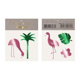 Meri Meri Tattoos 'Tropical Flamingo'