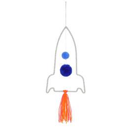 Meri Meri Wanddekoration 'Rakete'