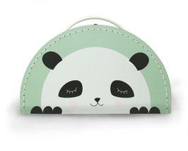 Kids Boetik Koffer 'Panda' mint