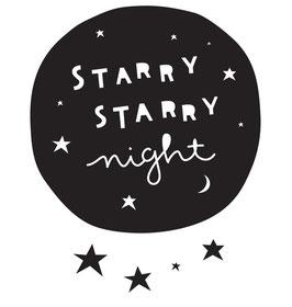 A little lovely company Wandsticker 'STARRY STARRY night'