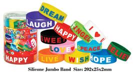 Fun Trading Silikon Armbänder 'Jumbo'