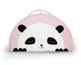 Kids Boetik Koffer 'Panda' pink