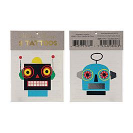 Meri Meri Tattoos 'Roboter'