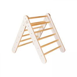 MeowBaby® Montessori Holzleiter für Kinder (weiß oder grau)