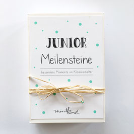 mintkind Junior Meilensteinkarten