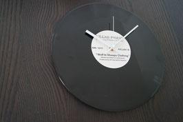 Wanduhr Schallplatte