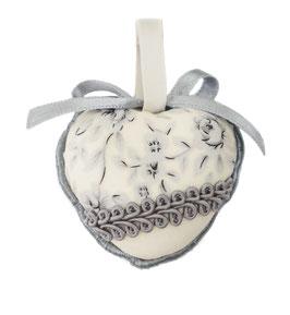 Cœur gris petit modèle