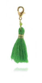 Pompon Vert / Or