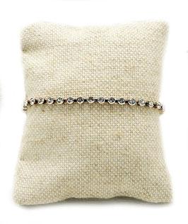 Bracelet Calypso Strass Argent