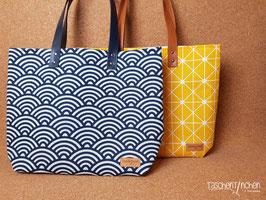 """Shoppingbag """"Madrid"""" (Muster grafisch)"""