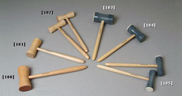 Kaufmann Wien - Glockenhammer Holz/Leder groß (180)