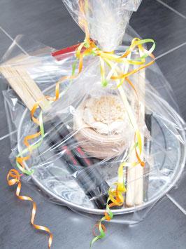 Geschenkkorb zu Geburtstag oder Hochzeit