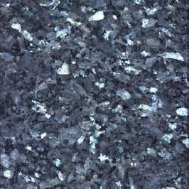 Granit Treppe Labrador Blue Pearl poliert gewendelt
